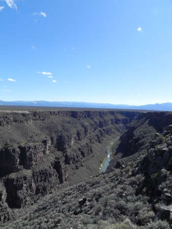Rio Grande Gorge in New Mexico photo