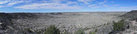 Het noorden van Black Mesa in Oklahoma