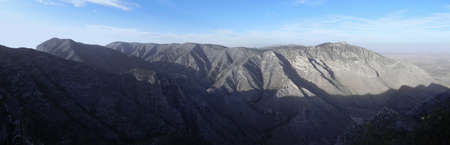 Guadalupe Mountains National Park in Texas from Guadallupe Peak trail photo
