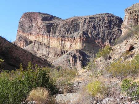 Burro Mesa Trail in Big Bend National Park in Texas