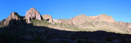 Chisos Mountains in Big Bend National Park in Texas