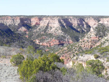 Caprock Canyons State Park Texas Stock Photo - 12432011
