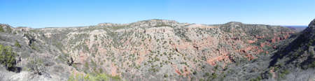 View from upper Haynes Ridge in Caprock Canyons State Park Texas photo