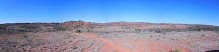 Caprock Canyons State Park Texas Panorama photo