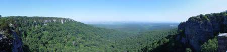 Uitzicht vanaf Mount Magazine in Arkansas