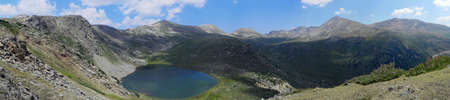 Linkins Lake and Geissler Mountain in Colorado