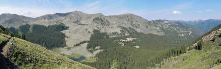West from Wheeler Peak New Mexico