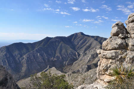 Guadalupe Peak in Guadalupe Mountains National Park photo