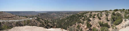 Overlook view in Palo Duro Canyon State Park, Texas