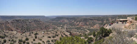 duro: Overlook view in Palo Duro Canyon State Park, Texas