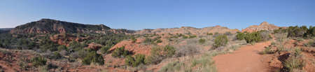 duro: Trail in Palo Duro Canyon State Park, Texas