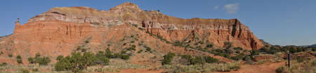 duro: Capitol Peak in Palo Duro Canyon State Park, Texas