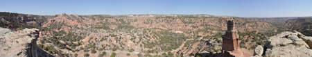 duro: Lighthouse Panorama in Palo Duro Canyon State Park, Texas