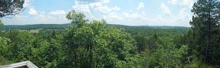overlook: Bootleg Access overlook, Missouri Stock Photo