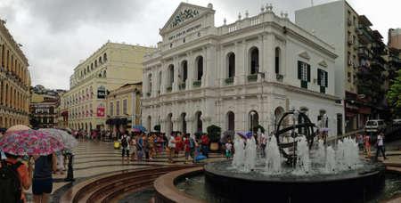 Macau straten in augustus 2013