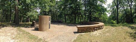 Round House Memorial in Rockwoods Range Stockfoto