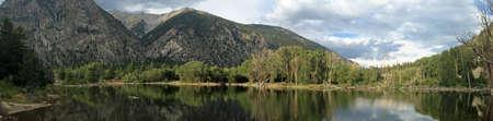 Chalk Lake below Mount Princeton Colorado