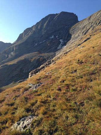 cristo: Kit Carson Peak in Sangre de Cristo Range Stock Photo
