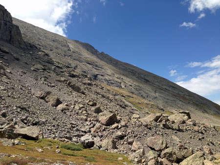 Challenger Point lagere hellingen van Colorado