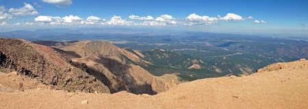 Alpine region of Pikes Peak, Colorado