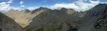Sangre de Cristo Mountains in Colorado Stockfoto