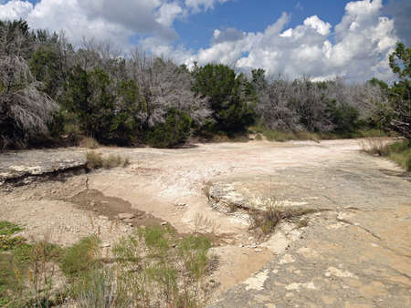 Wash in Dinosaur Valley State Park in Texas