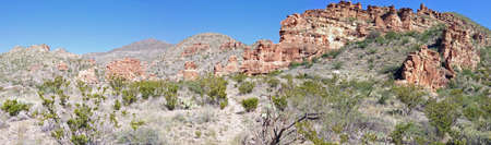 Blue Creek Canyon in Big Bend National Park, Texas