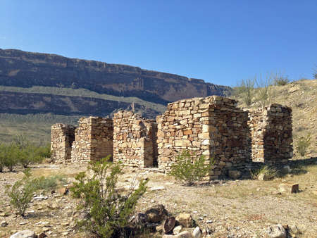 ranch house: Sublett ranch house ruins in Big Bend National Park, Texas