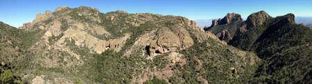 Uitzicht vanaf Lost Mine Trail in Big Bend National Park, Texas