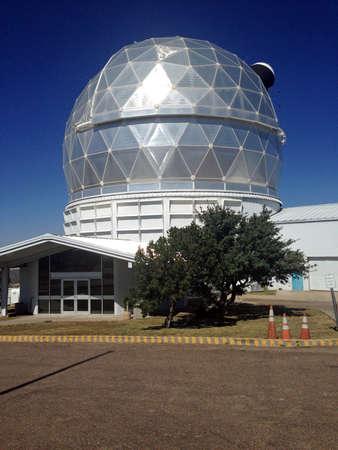 mcdonald: Hobby-Eberly Telescope at the McDonald Observatory, Texas Editorial