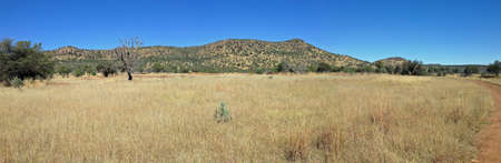 Davis Mountains Preserve, Texas Stock Photo