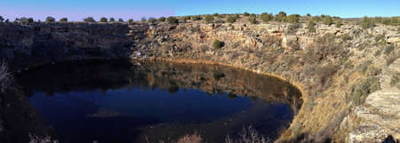 Montezuma Well in Montezuma Castle National Monument in Arizona