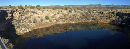 Montezuma Well in Montezuma Castle National Monument in Arizona