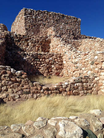 Ruins in Tuzigoot National Monument in Arizona