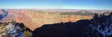 View from Desert View in Grand Canyon, Arizona Stock Photo