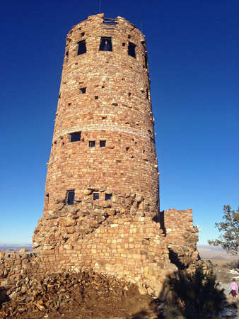 Desert View Watertower in Grand Canyon, Arizona photo