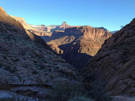 Midden van de Grand Canyon, Arizona