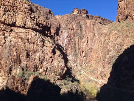 kaibab trail: Canyon along North Kaibab Trail in Grand Canyon, Arizona