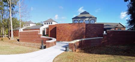 Bezoekerscentrum in Andersonville National Historic Site in Georgië