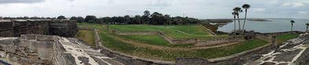 Uitzicht vanaf Castillo de San Marcos in St Augustine, Florida