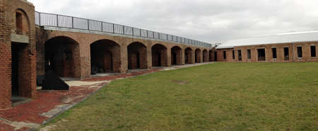 Centrum van Fort Zachary Taylor in Florida