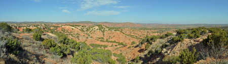 Overlook in Caprock Canyons State Park, Texas photo