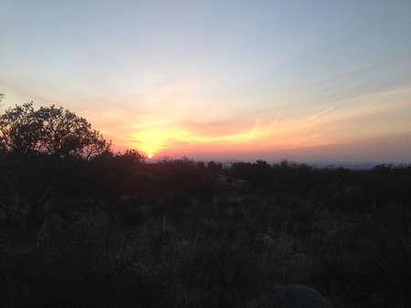 Sunrise in Guadalupe Mountains National Park, Texas photo