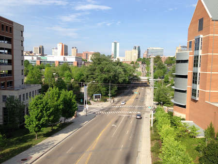 tennesse: El centro de Knoxville, Tennessee