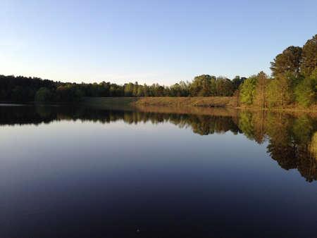 national forest: Puskus Lago en Holly Springs National Forest, Mississippi