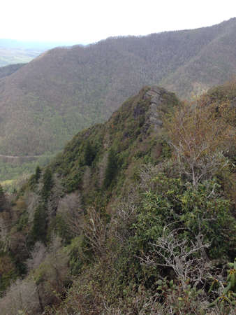 great smokies: View from Chimney Tops in Great Smoky Mountains, Tennessee