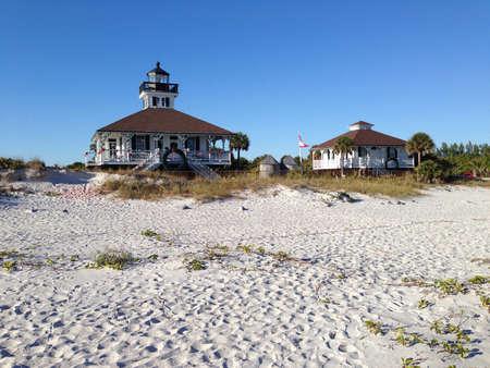 grande: Lighthouse in Boca Grande, Florida