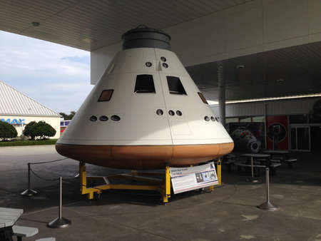 Kennedy: Orion capsule at Kennedy Space Center.