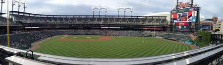 ballpark: Comerica Park in Detroit