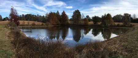 cane creek: Pond at Cane Creek Canyon Nature Preserve